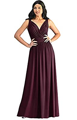 Maroon Wine Red plus size maxi dresses and gowns for women; comfortable and elegant plus sized floor length bridesmaid dresses; ladies full length vintage dresses; curvaceous womans clothes for spring summer; special occasion maxi dresses Sleeveless ...
