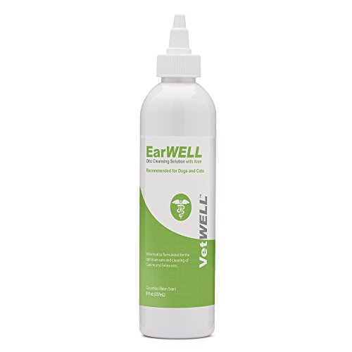 VetWELL Ear Cleaner for Dogs and Cats - Otic Rinse...