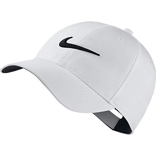 Nike 892651, Berretto da Baseball Uomo, Bianco (Blanco 100), Taglia Unica (Taglia Produttore: Unica)