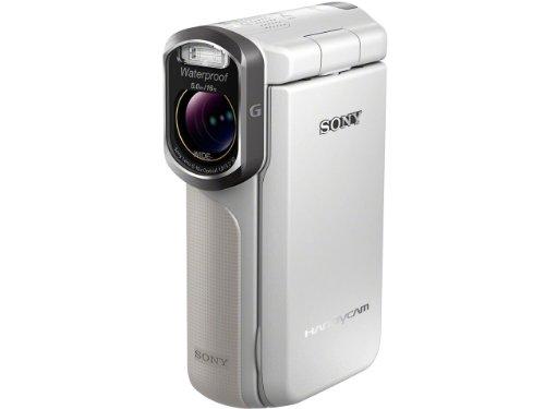 SONY デジタルHDビデオカメラレコーダー ホワイト HDR-GW77V/W