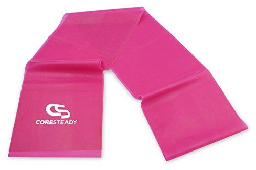 Coresteady Fasce di Resistenza Terapeutiche | Bande Fitness di Alta qualit per Pilates, Yoga,...