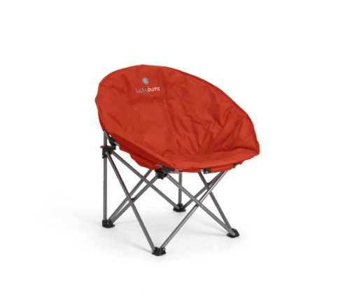 Lucky Bums Moon Camp Comfort Lightweight Durable Chair with...