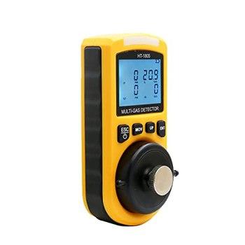 Détecteur de qualité de l'air Detecteur de gaz 4 en 1 CO H₂S O₂ LEL Surveillez Le détecteur de testeur de la qualité de l'air de monoxyde de Carbone du monoxyde de Carbone numérique