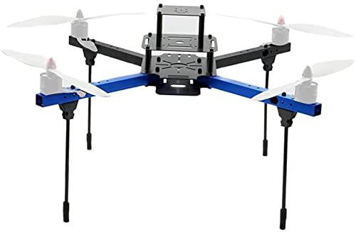 DNKKQ Kit Telaio aeronautico in Alluminio Leggero da 450 mm F450 per quadricottero Drone FPV, Supporto eliche da 11 12 Pollici, Accessori di Ricambio RC Stabilit