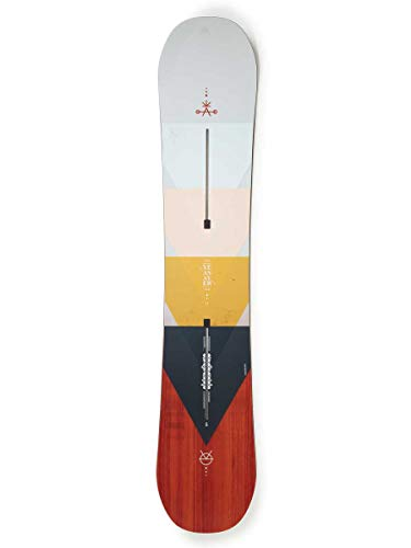 Burton Damen Yeasayer Flying V All-Mountain Board rosa 152