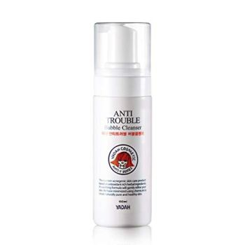 YADAH Anti Trouble Bubble Cleanser 150ml (5.07fl.oz.) / Soft Bubble Cleansing for Acne Sensitive Skin