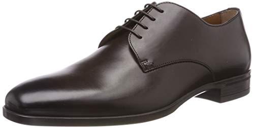 BOSS Kensington_derb_bu Zapatos de cordones derby Hombre, Marrón (Dark Brown 201), 46 EU (12 UK)