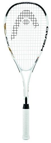 HEAD Nano Ti Spector 2.0 Squash Racquet, Black/white
