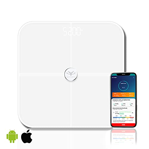 Actofit Body Fat Analyser Smart Scale with Complete Digital Body Composition Monitor Including BMI,...