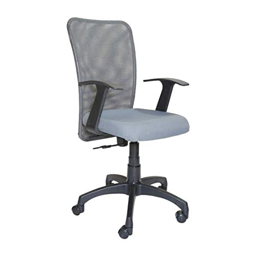 CELLBELL C83 Mid Back Mesh Fabric Office Chair [Grey]