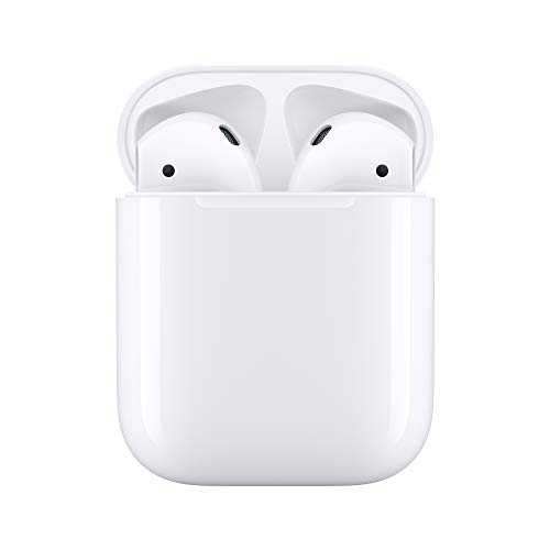 Apple AirPods con custodia di ricarica tramite...