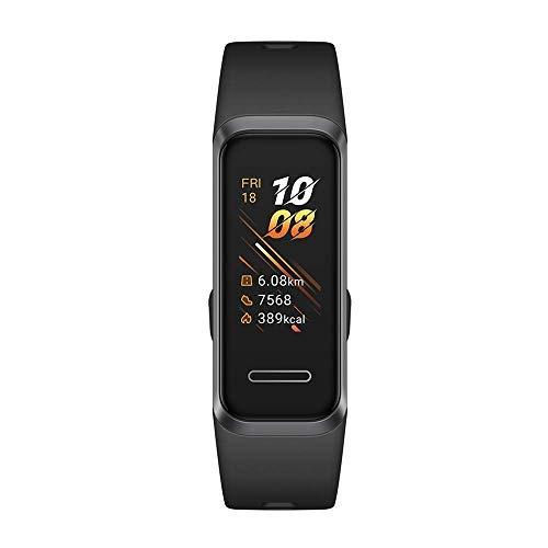 HUAWEI Band 4 Fitness Tracker, Schermo TFT a Colori da 0.96 ', Monitoraggio Continuo 24/7 con...
