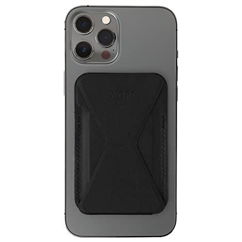 MOFT スマホ iPhone マグセーフ対応 ウォレットスタンド mag safe iPhone12 pro mini (ブラック)