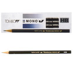 トンボ鉛筆 鉛筆 MONO 1ダース MONO-J HB