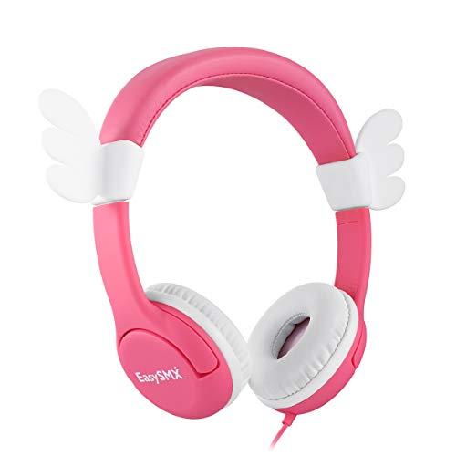 REDSTORM Casque Audio Enfant, Câblé sur Les Oreilles, Limitation de Volume de 85 DB, ABS Adapté aux Enfants pour PC/Phone/iPad/MP3/4