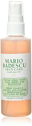 Mario Badescu Facial Spray with Aloe, Herbs and Rosewater, 4 Fl Oz