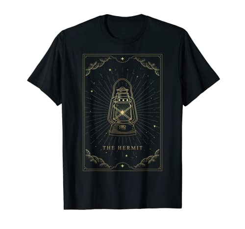 The Hermit Major Arcana Tarot Card Lantern Image Symbolizing...