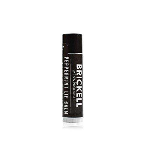 Brickell Men's Products Balsamo Labbra non Lucido - 15 once - Naturale ed Organico