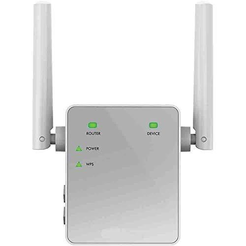 Netgear EX3700-100PES Ripetitore Wifi 750 Mbps, Wifi Extender e Access Point Dual Band, Porta Lan,...