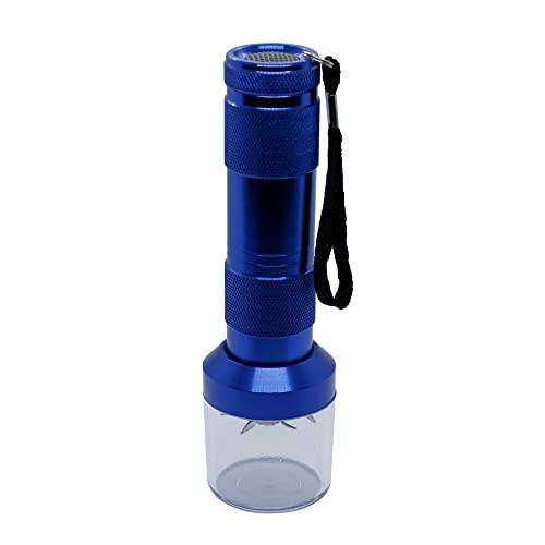 Grinder Eléctrico para Hierbas - Picadora de Especias - Grinder Piezas Metálicas (Color: Azul)