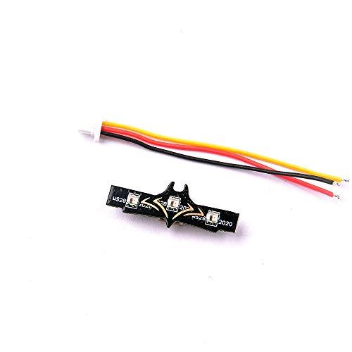 WFBD-CN Modulo elettronico for RC Drone FPV Corsa Mobula7 Parte 0.3g Piccola Coda Luce WS2812 LED Striscia programmabile Betaflight