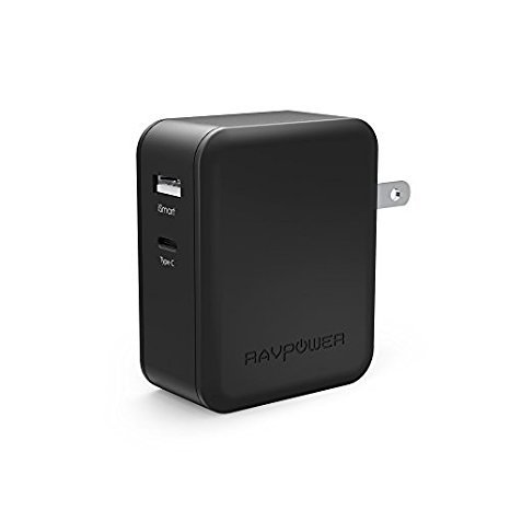 【Power Delivery】RAVPower USB-C 充電器 36W 2ポート 急速充電 Galaxy/iPhone/iPad/MacBook/Nintendo Swi...