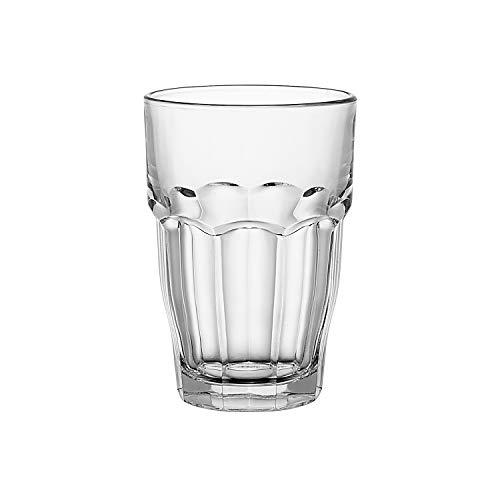Bormioli Rocco Rock Bar  Long drink bicchieri  370ml, stackable, indurito, 6 bicchieri