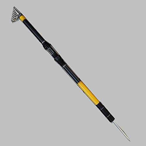 gengyouyuan Long Shot Canna da Pesca 2,1 m 3,6 m Canna da Pesca, Terra Nera e Gialla, 2.1 Meters