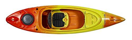 "Perception Kayaks Flash 9.5   Sit Inside Kayak for Fishing and Fun   Two Rod Holders   Multi-Function Dash   9' 6""   Earth (9331900190)"