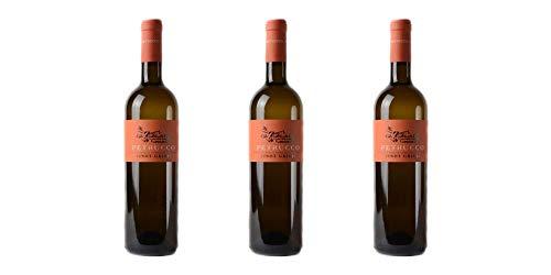 3 Bottiglie di Pinot Grigio DOC dei Colli Orientali del Friuli | Cantina Petrucco | Annata 2017