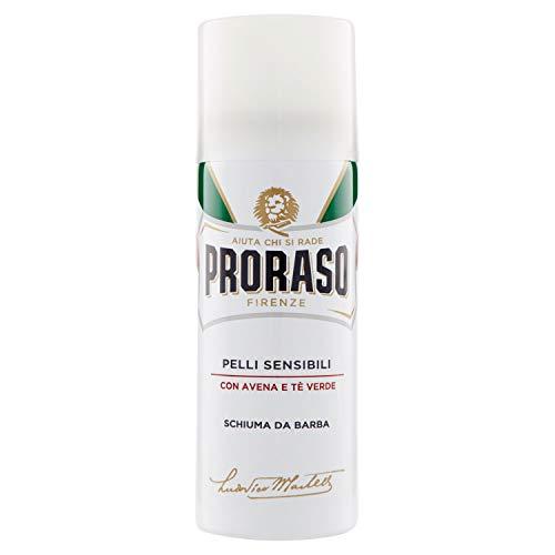 Proraso White Pelli sensi BiLi Anti Irritazione Schiuma da Barba, 1er Pack (1X 50ML)