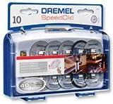 Kit d'Accessoires Dremel SC690 EZ SpeedClic - Coffret de Meules à...