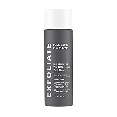 GENTLE NON-ABRASIVE LEAVE-ON EXFOLIATOR: with 2% BHA (Beta hydroxy acid) to unclog & diminish enlarged pores, exfoliate dead skin cells, smooth wrinkles & brighten & even out skin tone. Combats redness, wrinkles, aging, enlarged pores, & blackheads. ...