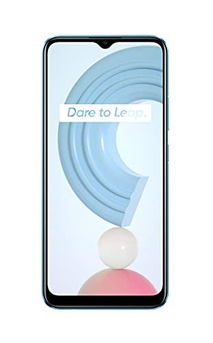 """realme C21 Smartphone Libre, Batería de 5000 mAh, Pantalla completa de 6,5"""" con mini-drop, Cámara triple con Inteligencia-Artificial de 13 MP, Procesador robusto Helio G35, Dual Sim, 3+32GB, Cross Blue"""