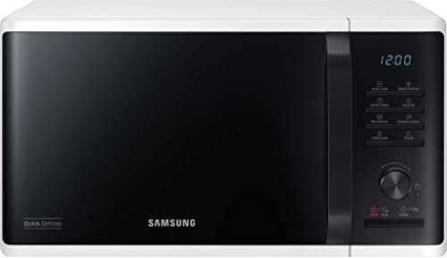 Samsung MS23K3515AW/EG Mikrowelle / 800 W / 23 L Garraum / 48,9 cm Breite / Quick Defrost / 29 Automatikprogramme / weiß