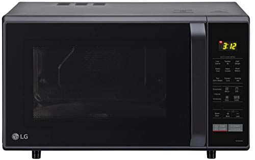 LG 28 L Convection Microwave Oven (MC2846BG, Black,With Starter Kit)