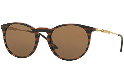 31kt YTJ rL Model: VE4315A   Color: 518773 Sunglasses BROWN RULE BLACK w/ BROWN Lens 100% Authentic New   100% UV Protection EyeSize 52mm   Bridge 20mm   Temple 140mm
