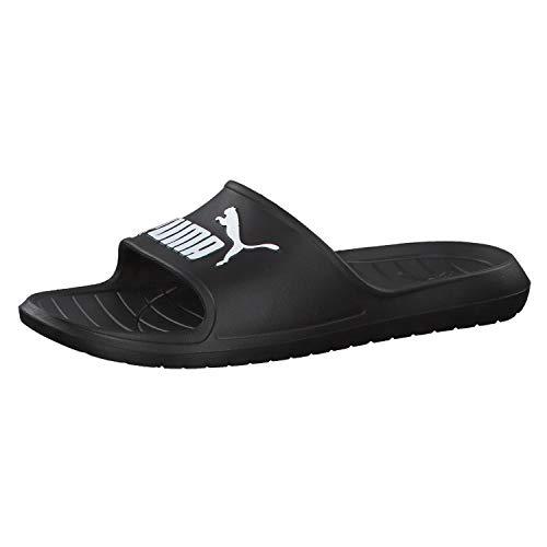 PUMA Divecat V2, Zapatos de Playa y Piscina Unisex Adulto, Negro Black White, 40.5 EU