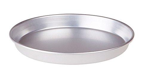 Pentole Agnelli, FAMA43/345, Tortiera Conica con Orlo, Alluminio, 45 X 45 X 3 cm