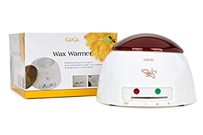 MADE IN THE US, HIGH-QUALITY, DURABLE WAX WARMER. GiGi Wax Warmer accommodates most wax containers and hair removal formulas. Made in the US with premium grade quality. It can hold 14 oz wax cans and melts hard wax in less than 30 mins, faster heatin...