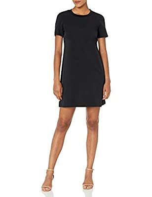 This is your favorite t-shirt dress but better and will surely be a closet staple that can be easily dressed up or down Made from our customer loved florence fabric and highlighted with a sweater trim, this is a medium weight dress that is refined, s...
