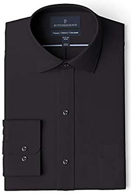 Made in Indonesia Long-sleeve pinpoint oxford non-iron dress shirt featuring spread collar, offered with or without pocket at chest Luxury Supima cotton with a lightweight finish; straight back yoke with center box pleat Satisfaction Guarantee: If yo...