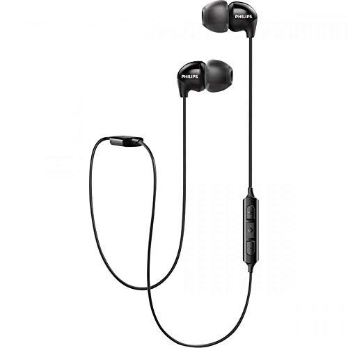 Philips Audio UpBeat SHB3595BK/10 Wireless Bluetooth in Ear Neckband Headphone with Mic (Black)