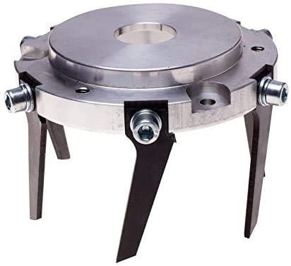 Doctor Machine Disco Fresa A Zappetta Universale 2 in 1 per Terreno Taglia Erba - Professionale per Decespugliatore con 6 Lame E 3 Fili