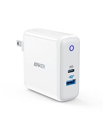 Anker PowerPort ll PD - 1 PD and 1 PowerIQ 2.0 (USB-Cポート搭載 急速充電器)【PowerIQ 2.0搭載 / Power...