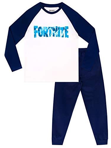 Fortnite Pijamas para Niños Azul 7-8 Años