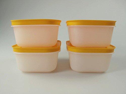 TUPPERWARE Contenitore Pinguino da 450 ml bianco arancione (4) 10725