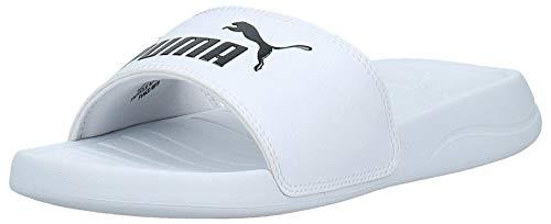 PUMA Popcat 20, Zapatos de Playa y Piscina Unisex Adulto, Blanco White Black, 42 EU