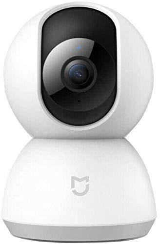 Xiaomi Mi Home Security Camera 360 ° 1080P, Visione notturna a infrarossi, Rilevamento del movimento, Funzione Talkback, Installazione inversa, Protezione video completa MJSXJ02CM
