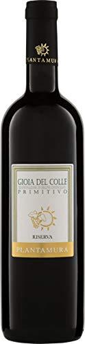 Primitivo Gioia Del Colle Riserva Etichetta Bianca Plantamura Cl 75